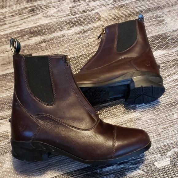 f4a87142491 Ariat Heritage IV Zip English Paddock Boots 9B